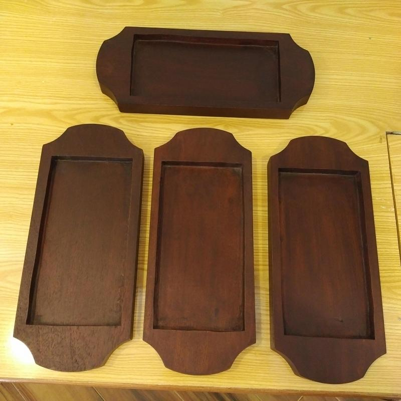 Wooden Holders for Platters