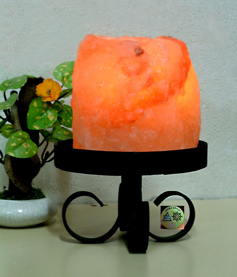 SALT CANDLE HOLDER (TEA LIGHT)